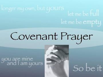Covenant Prayer